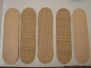 ... - Rady a Návody - Jak vyrobit dřevěný Fingerboard podle formy
